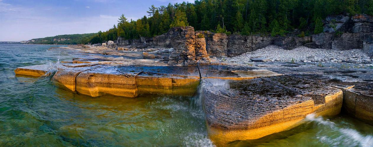 Shores of Bruce Peninsula