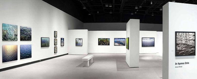 "Janusz Wrobel -""An Aqueous State"" exhibition at Art Gallery of Burlington  2014-150"