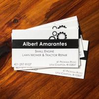 Albert Amarantes Business Cards