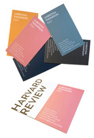 Harvard Review Business Cards