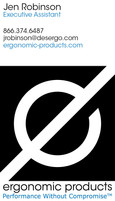 Ergonomic Products Business Card