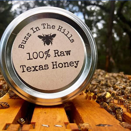 Raw Texas Honey 16 oz