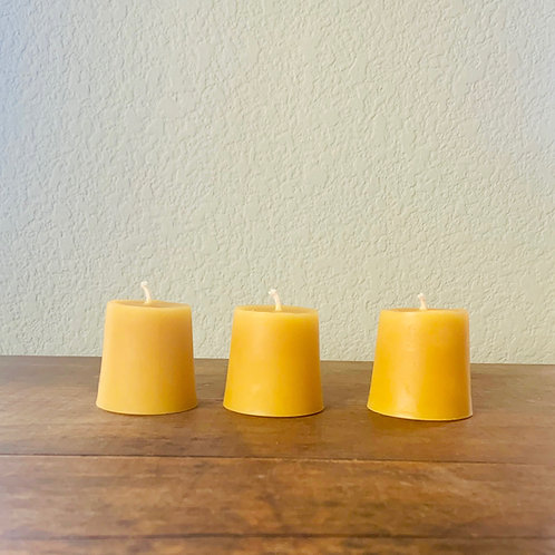 Beeswax Candle- Votives
