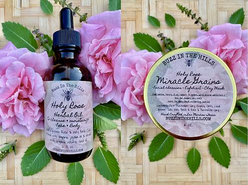 Holy Rose Skin Care Bundle