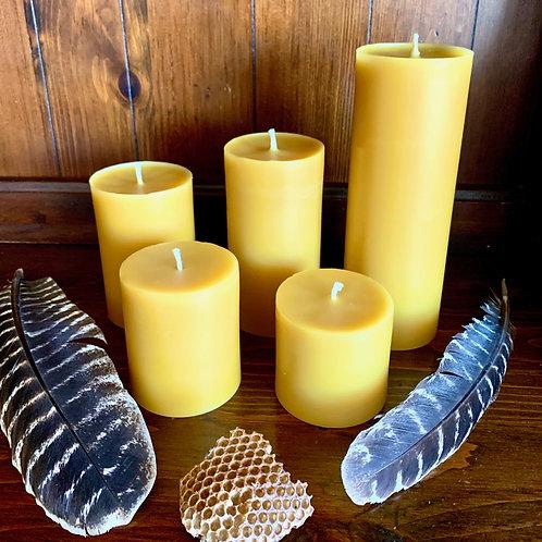 Beeswax Candle - Pillars
