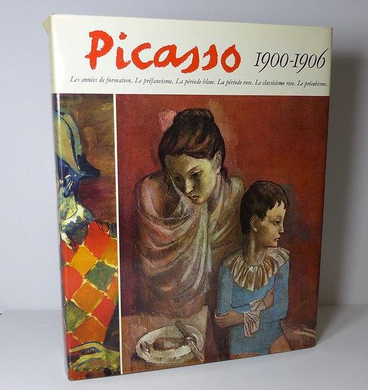 Picasso. 1900-1908. Cat. raisonné. Ides et Calendes. 1966. Dédicacé par Picasso.