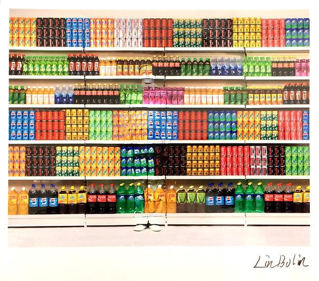 Liu Bolin(Né en 1973) Supermarket #3 - 2017
