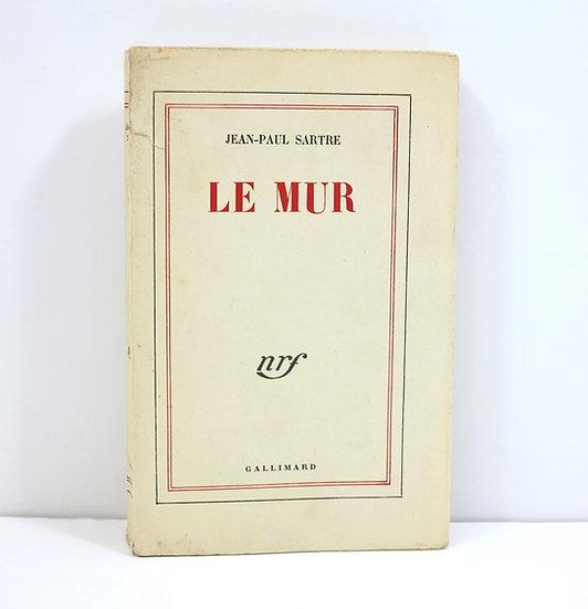 Sartre (Jean-Paul). Le Mur. Gallimard. 1954. Dédicacé.