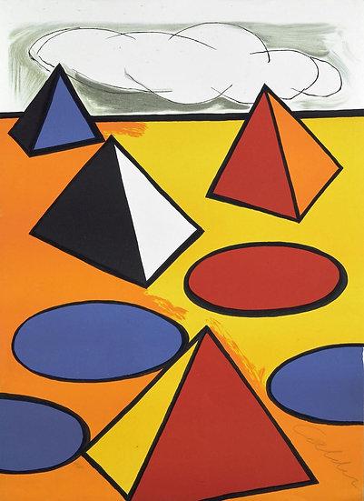 Alexander Calder(1898 - 1976) Ciel d'orage - 1976