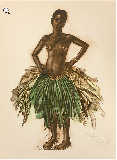 Alexandre Iacovleff (1887-1938). Dessins et peintures d'Afrique. 1927.