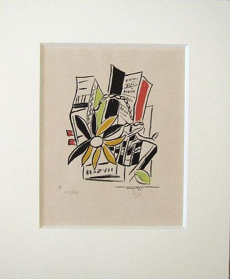 Fernand Léger(Argentan, 1881 - 1955) Chevreuse Août - 1951