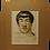 Portrait de Foujita. Par Zaliouk (1887-1971). Signé par Zaliouk et Foujita. 1914