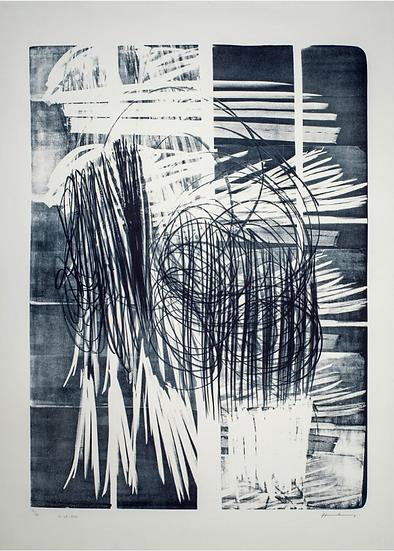 Hartung Hans (1904-1989)  L-16B-1974. Lithographie signée.