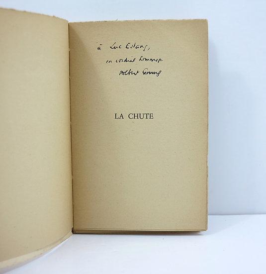 Albert Camus (1913-1960). La Chute. Gallimard, 1956. Dédicacé.