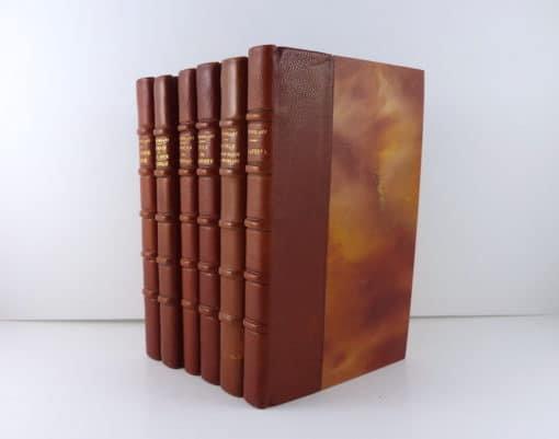 Henri de Montherlant (1895-1972). Six ouvrages, tous dédicacés.