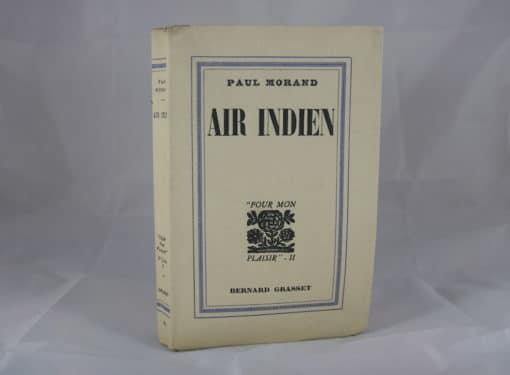 MORAND (Paul). Air indien. Edition originale.