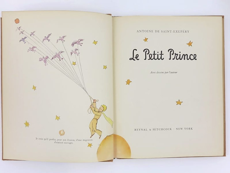 Saint Exupéry. Le Petit Prince,1943. Première édition française. Signée. First edition