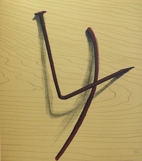 Man Ray (1890-1976) Lithographie sur vélin d'Arches. 1973.