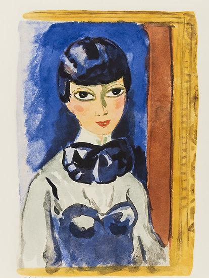 Kees Van DONGEN (1877-1968). Claudine, circa 1950. Lithographie signée.