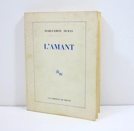 Marguerite Duras (1914-1996).L'Amant. 1984. Dédicacé.