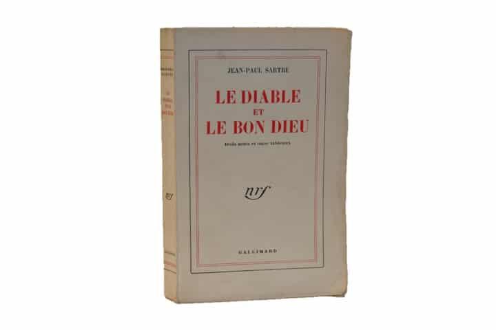 Jean-Paul Sartre. Le Diable et le Bon Dieu. Gallimard éd. Edition originale.
