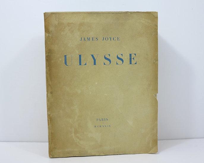 Joyce (James). Ulysse. La Maison des Amis des Livres. 1929.