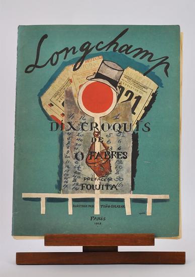 Longchamp. Par Oscar Fabres et Foujita, 1928.
