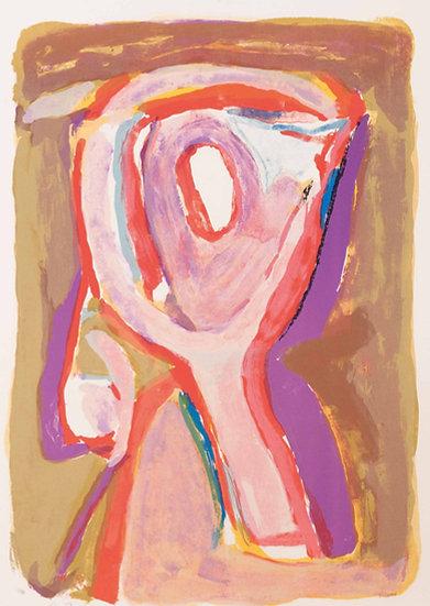 """Bram Van Velde(1895-1981).""""Crépuscule"""".1969."""