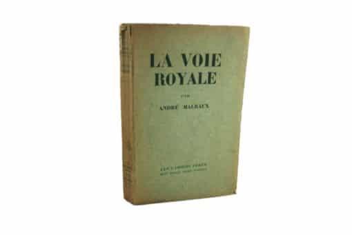 MALRAUX (André). La Voie royale. Edition originale dédicacée.