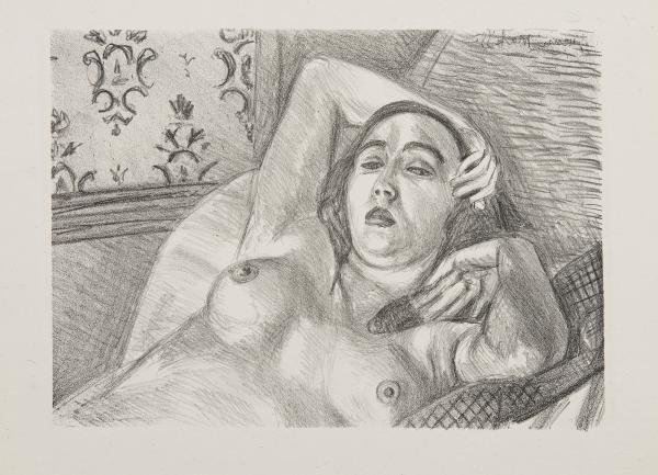 Les Peintres Lithographes de Manet à Matisse. Frapier éditeur. Circa 1925