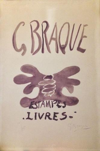 Georges Braque (1882-1963). Estampes et livres. 1958.