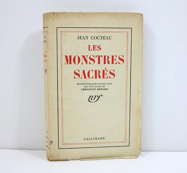 Jean Cocteau (1889-1963). Les Monstres sacrés. NRF. Dédicacé.