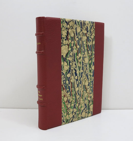 Alain. En lisant Balzac. Les laboratoires Martinet. 1935.