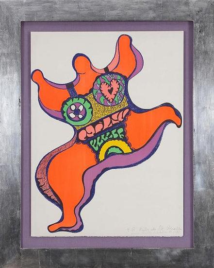 Niki de Saint Phalle (1930-2002). Nana. Lithographie signée.