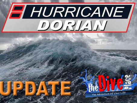 Hurricane Dorian Update - Tuesday Sept.3rd