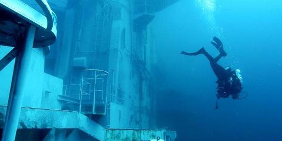 Florida Panhandle Shipwreck Trail - USS Oriskany