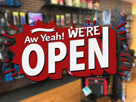 Oh Yes - We Are open As Usual!