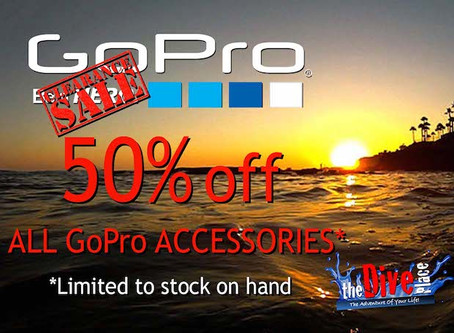GoPro Accessory Clearance Sale!