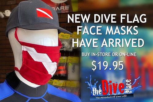 Dive Flag Face Mask