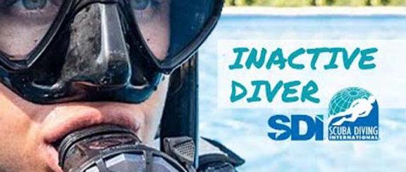 SDI Inactive Diver Class
