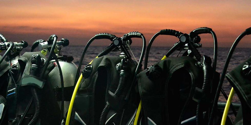 West Palm Beach Night Boat Dive