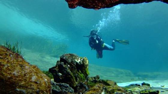 KP Hole At Rainbow River Drift Dive
