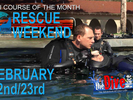Rescue Diver Weekend!