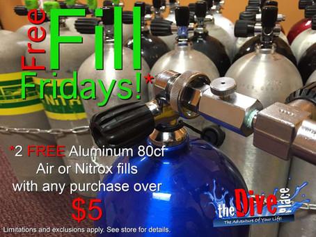 Free Fill Fridays!