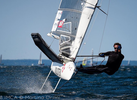 Benoit Marie Nous résume sa dernière journée du championnat d'Europe de Moth