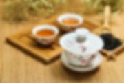 thé noir et thé vert