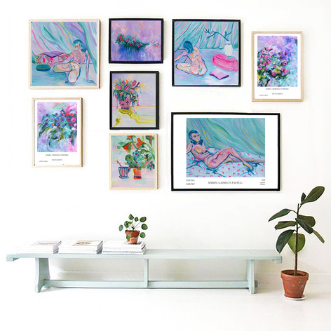 The Pastel Wall