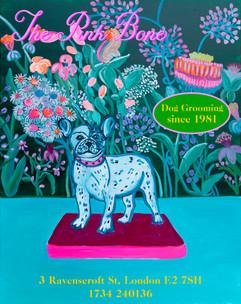 "Dog Grooming ""The Pink Bone"""