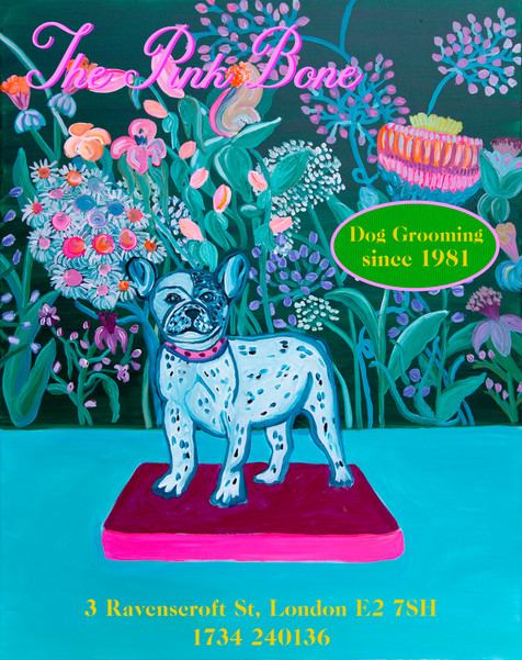 "Dog Grooming ""The Pink Bone"""