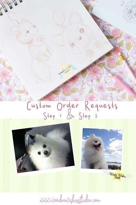 Custom Plushies Amigurumi Personalized G